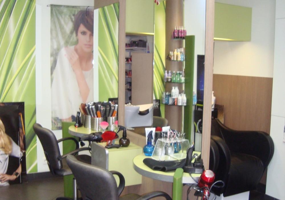 Salon de coiffure modulatif