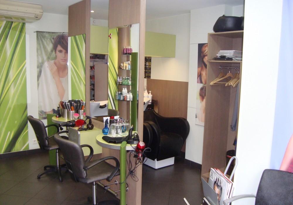Salon coiffure Modulatif Interieur
